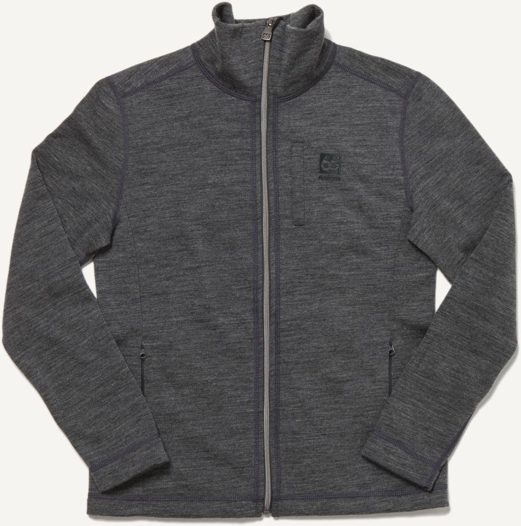 Kjölur Women´s Light Knit Jacket Charcoal-30