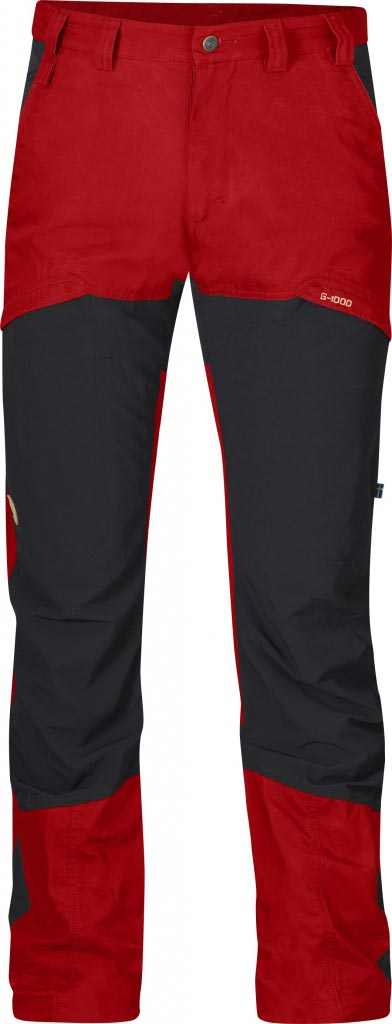 FjallRaven Kalfjäll Trousers Red-30