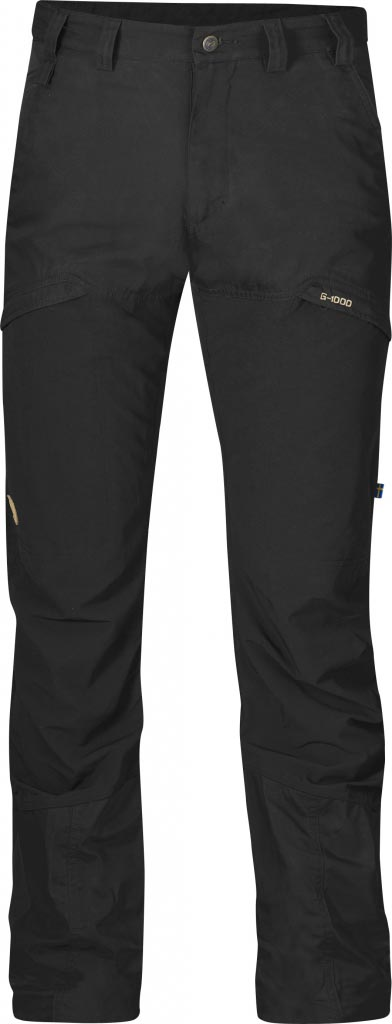 FjallRaven Kalfjäll Trousers Black-30
