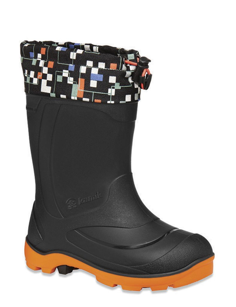 Kamik Snobuster 2 Black & Orange-30