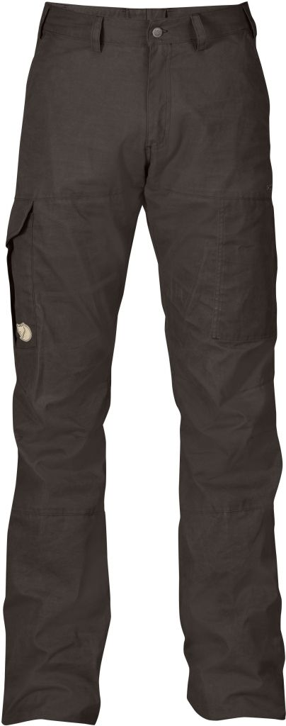 FjallRaven Karl Trousers Hydratic Black Brown-30