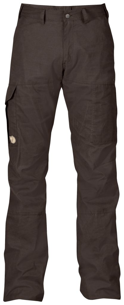 FjallRaven Karl Trousers Black Brown-30