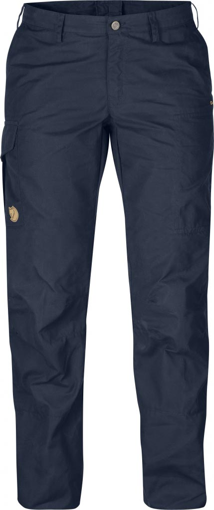 FjallRaven Karla Trousers Dark Navy-30