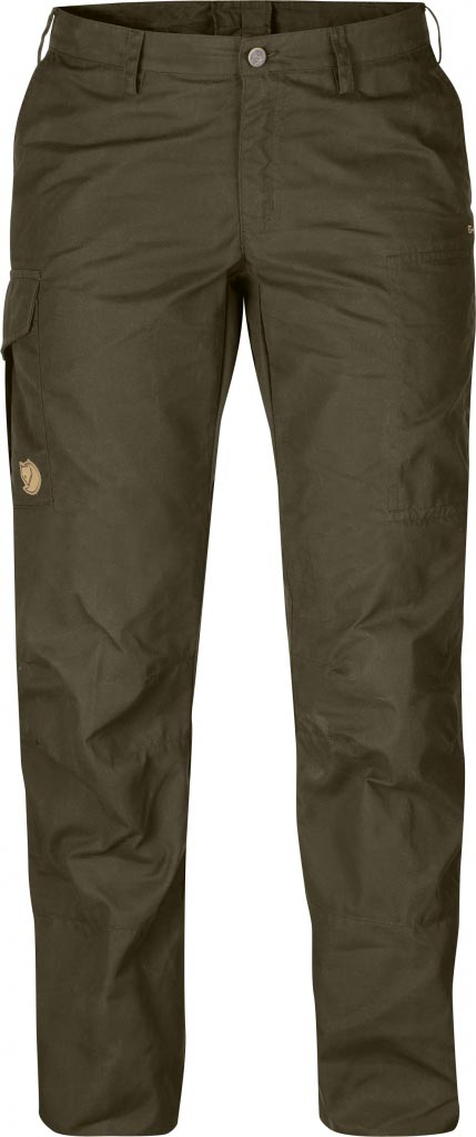 FjallRaven Karla Trousers Dark Olive-30