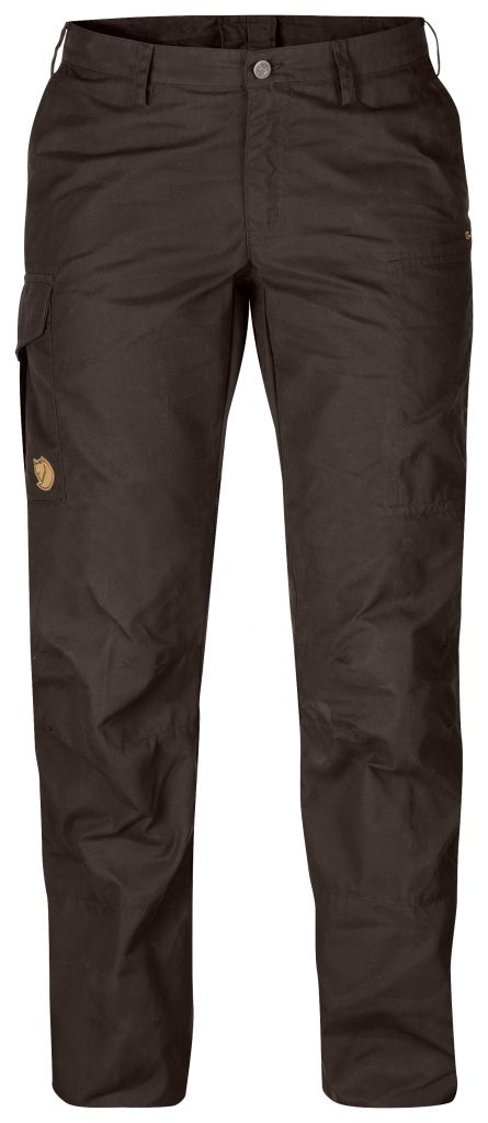 FjallRaven Karla Trousers Black Brown-30
