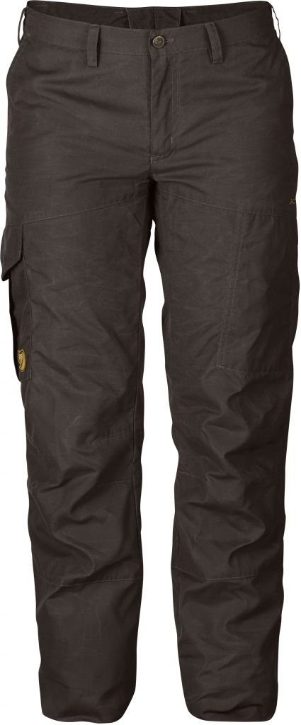 FjallRaven Karla Winter Trousers Black Brown-30