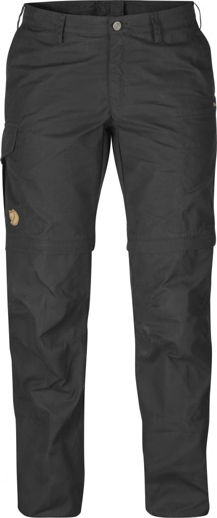 FjallRaven Karla Zip-Off Trousers Dark Grey-30