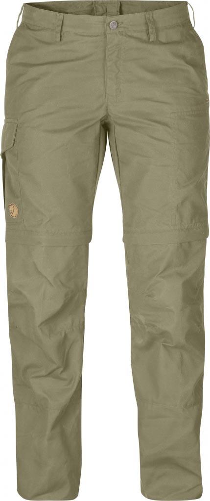 FjallRaven - Karla Zip-Off Trousers Light Khaki - Zip-Off Pants - 42