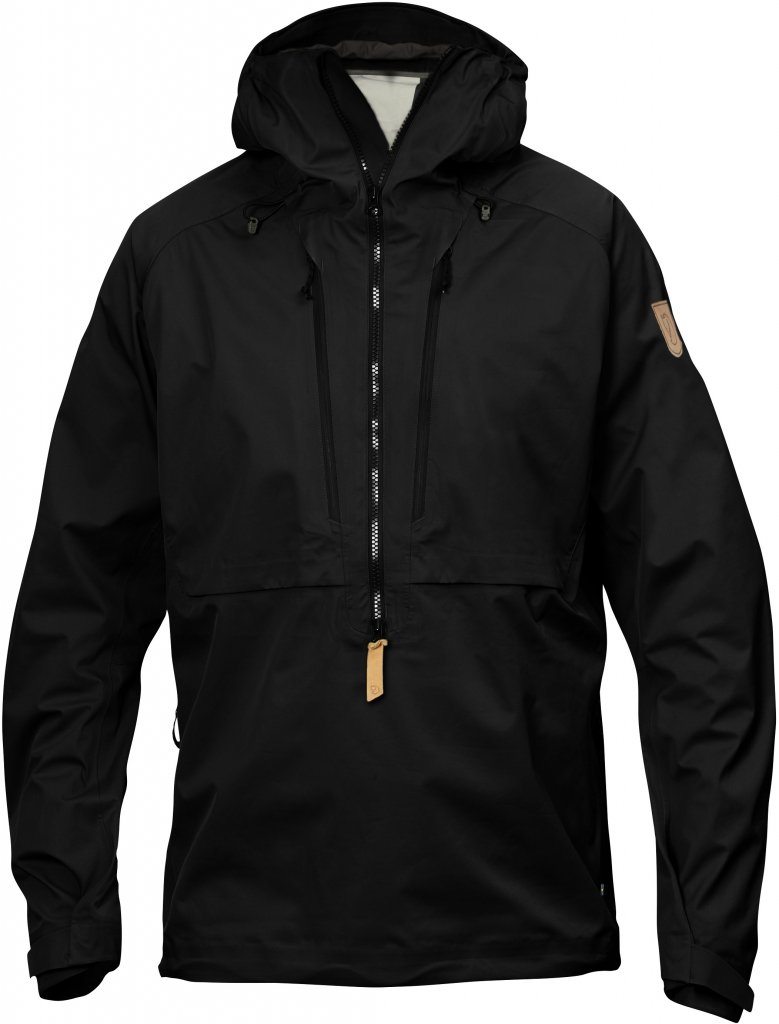 FjallRaven Keb Eco-Shell Anorak Black-30