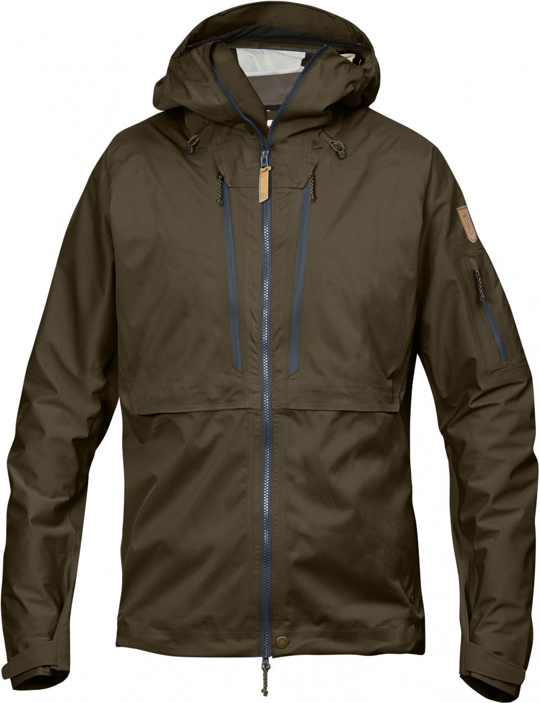 FjallRaven Keb Eco-Shell Jacket Khaki-30