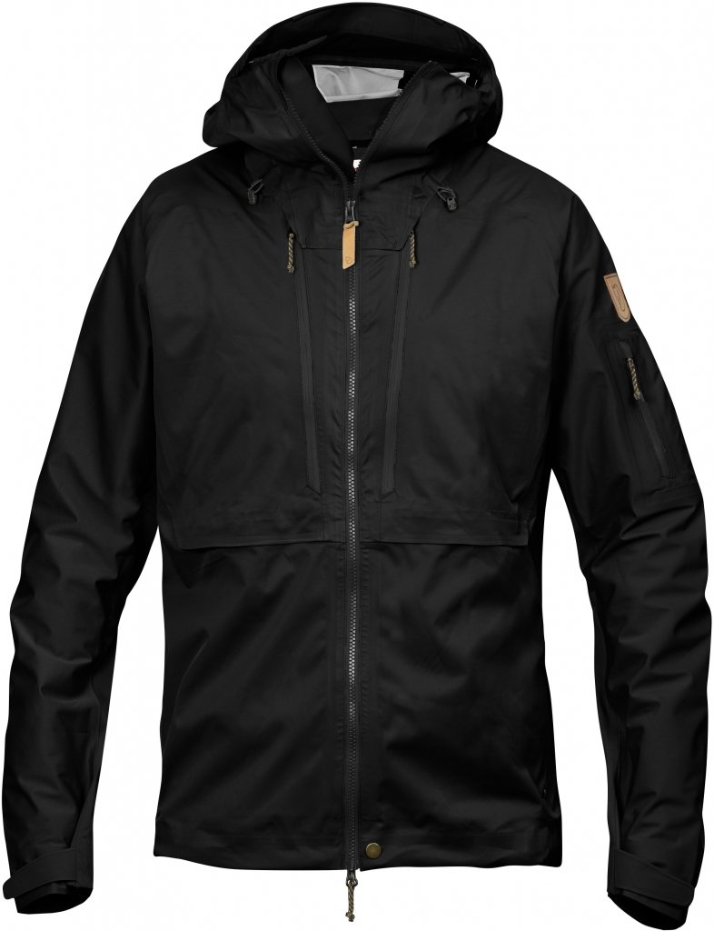 FjallRaven Keb Eco-Shell Jacket Black-30