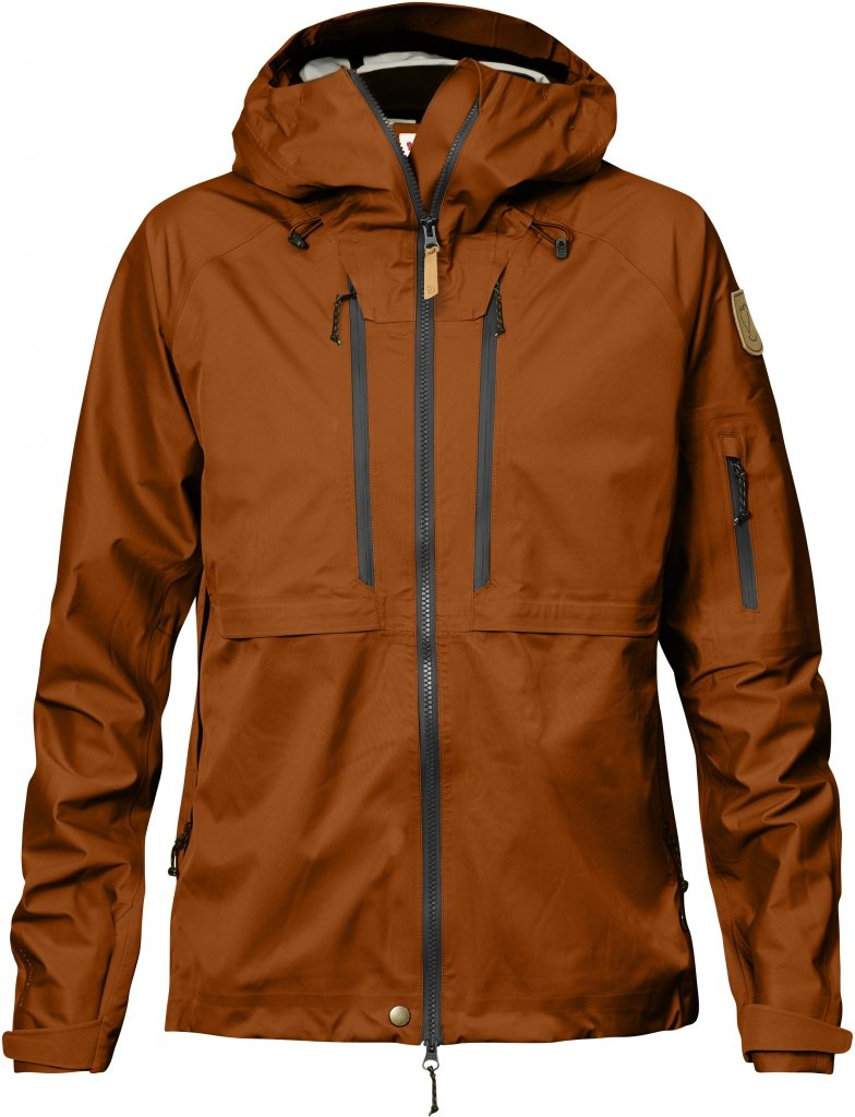 FjallRaven Keb Eco-Shell Jacket W Autumn Leaf-30