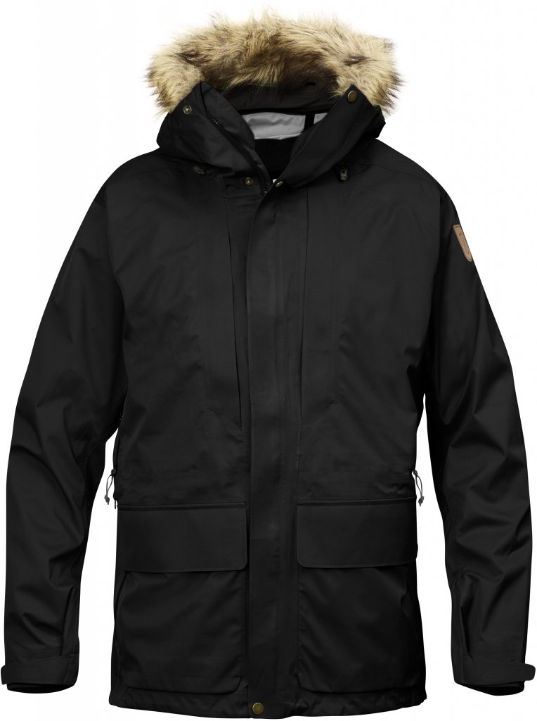 FjallRaven Keb Eco-Shell Parka Black-30