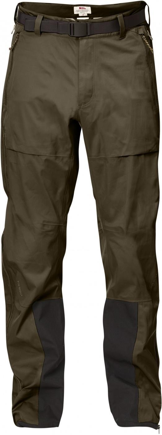 FjallRaven Keb Eco-Shell Trousers Khaki-30