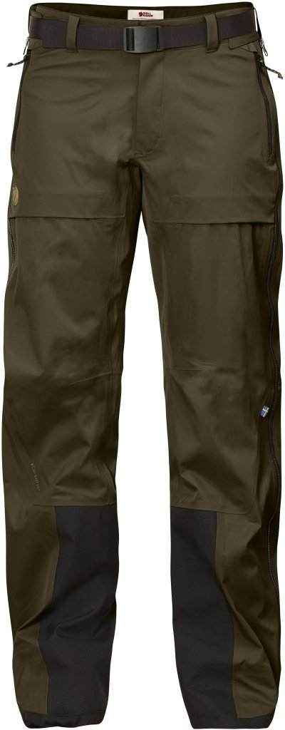 FjallRaven Keb Eco-Shell Trousers W Dark Olive-30