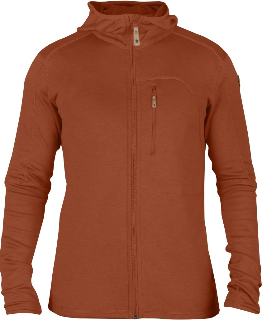 FjallRaven Keb Fleece Jacket Autumn Leaf-30