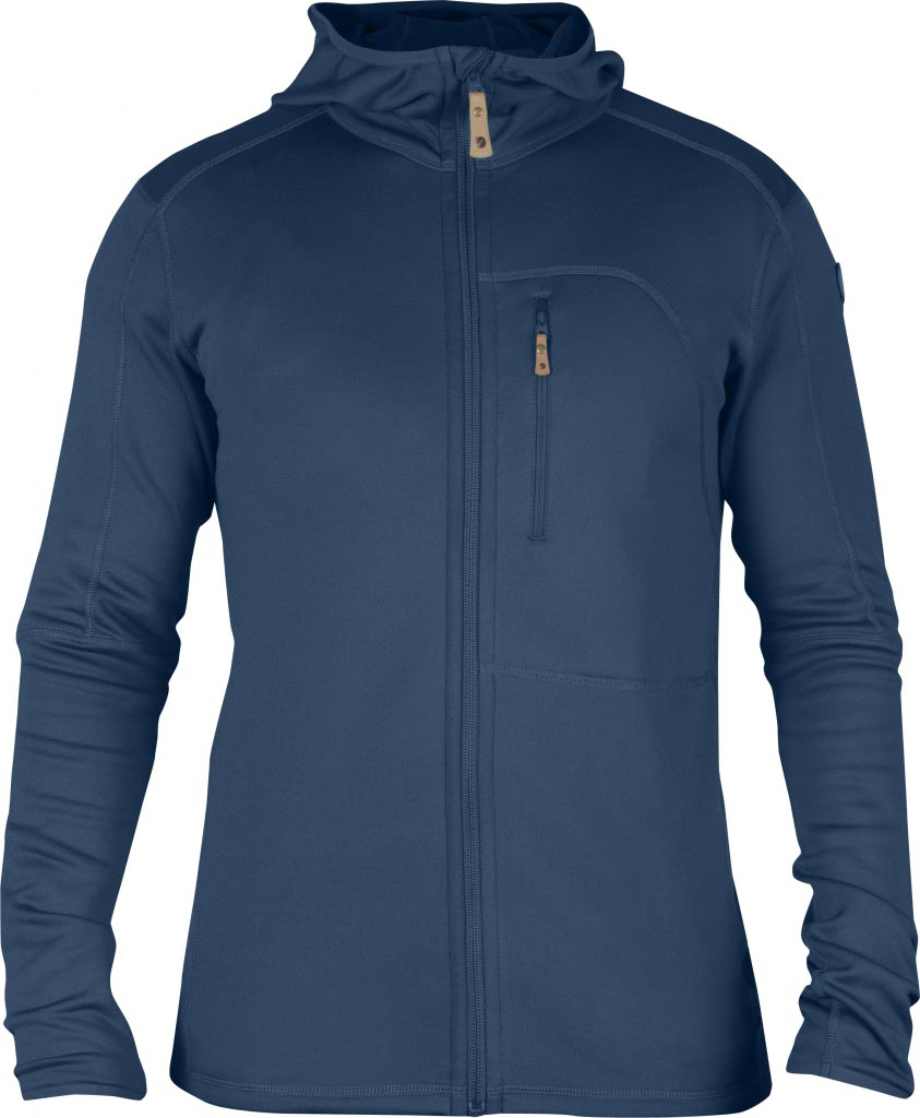 FjallRaven Keb Fleece Jacket Uncle Blue-30