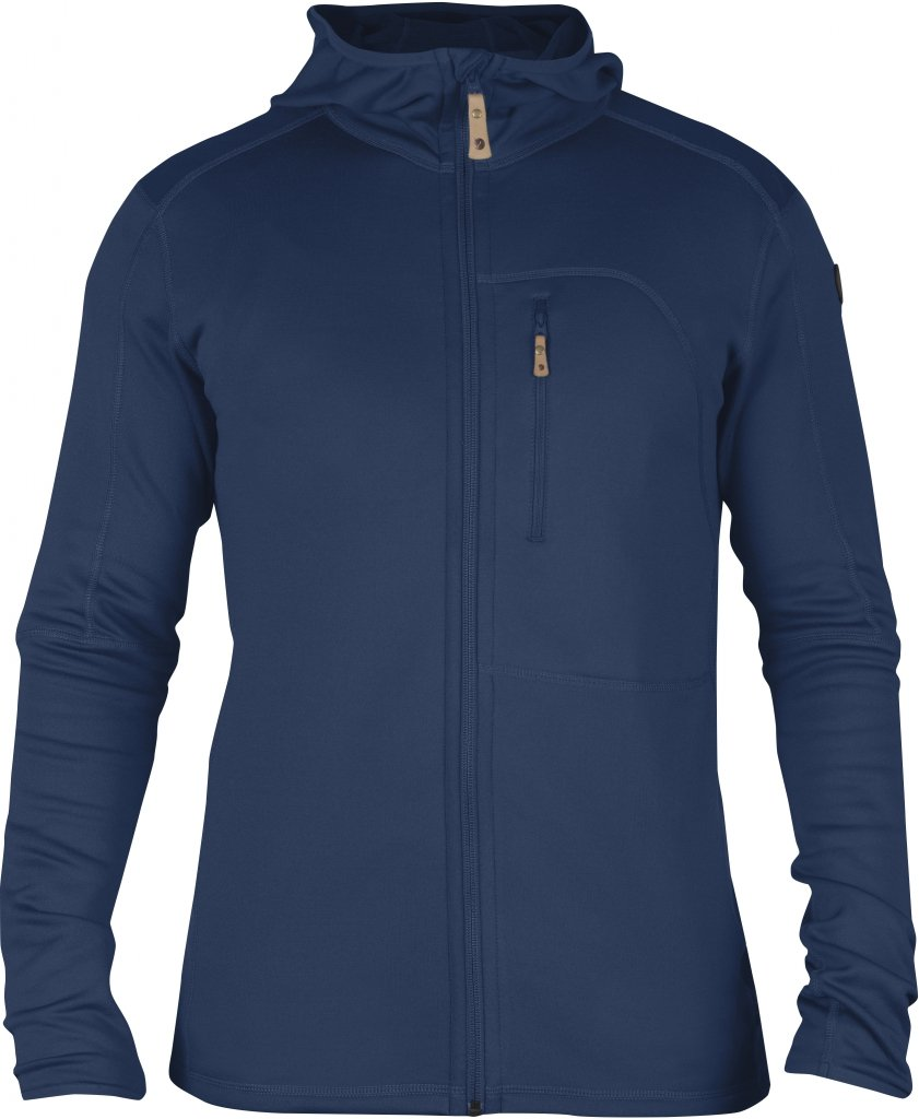FjallRaven Keb Fleece Jacket Blueberry-30