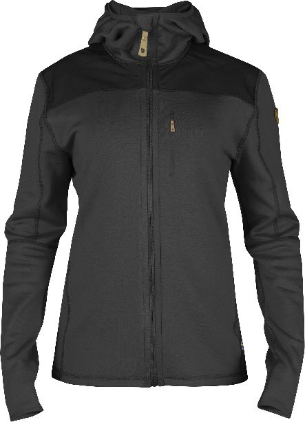 FjallRaven Keb Fleece Jacket W. Dark Grey-30