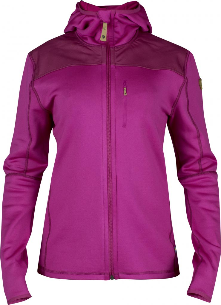 FjallRaven Keb Fleece Jacket W. Fuxia-30