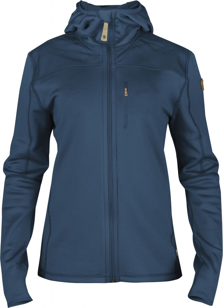 FjallRaven Keb Fleece Jacket W. Uncle Blue-30