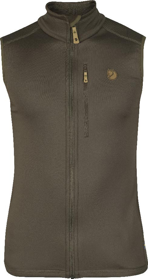 FjallRaven Keb Fleece Vest Tarmac-30