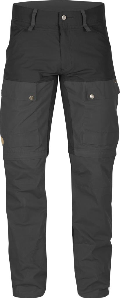 FjallRaven Keb Gaiter Trousers Black-30