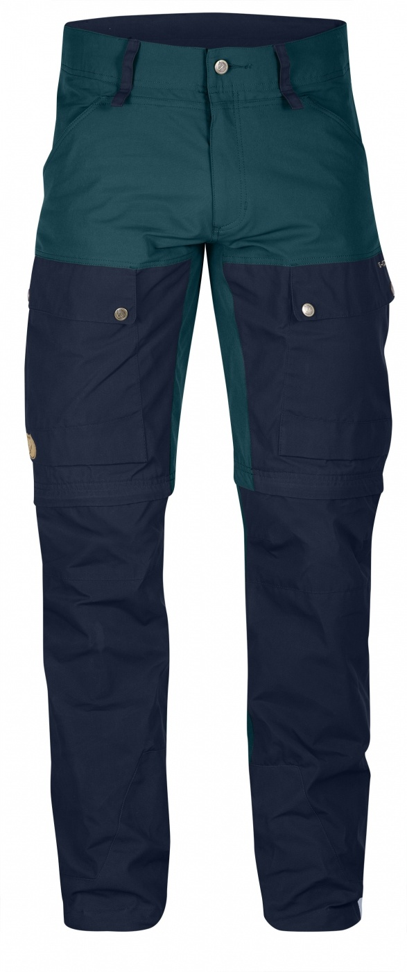 FjallRaven Keb Gaiter Trousers Long Glacier Green-Dark Navy-30