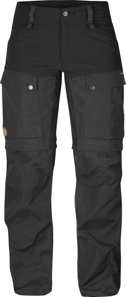 FjallRaven Keb Gaiter Trousers W. Black-30
