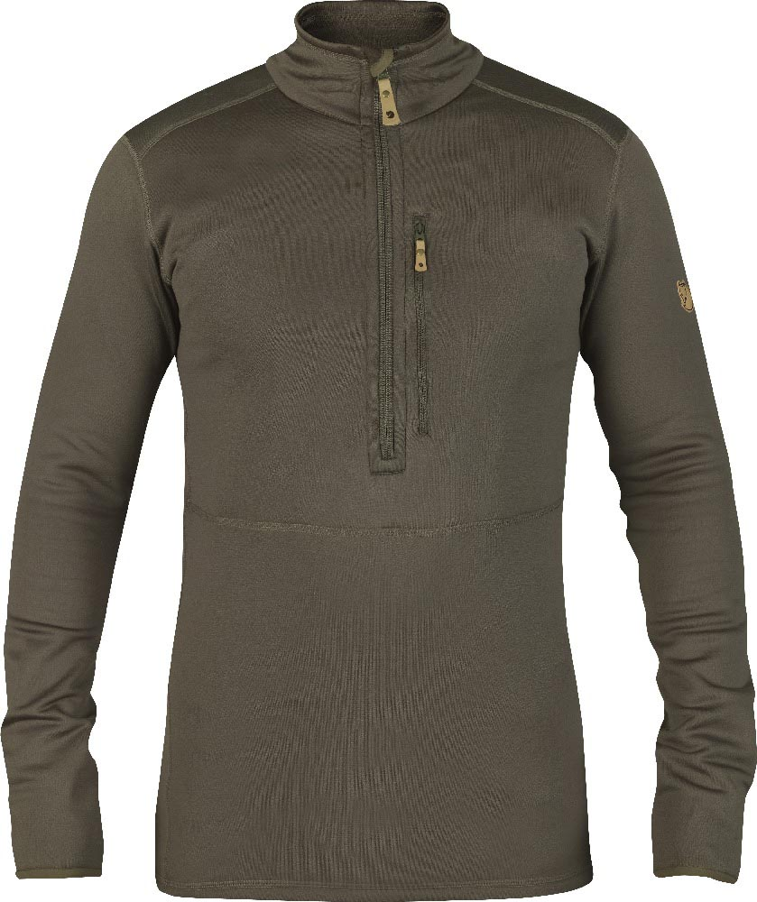 FjallRaven Keb Fleece Half Zip Tarmac-30