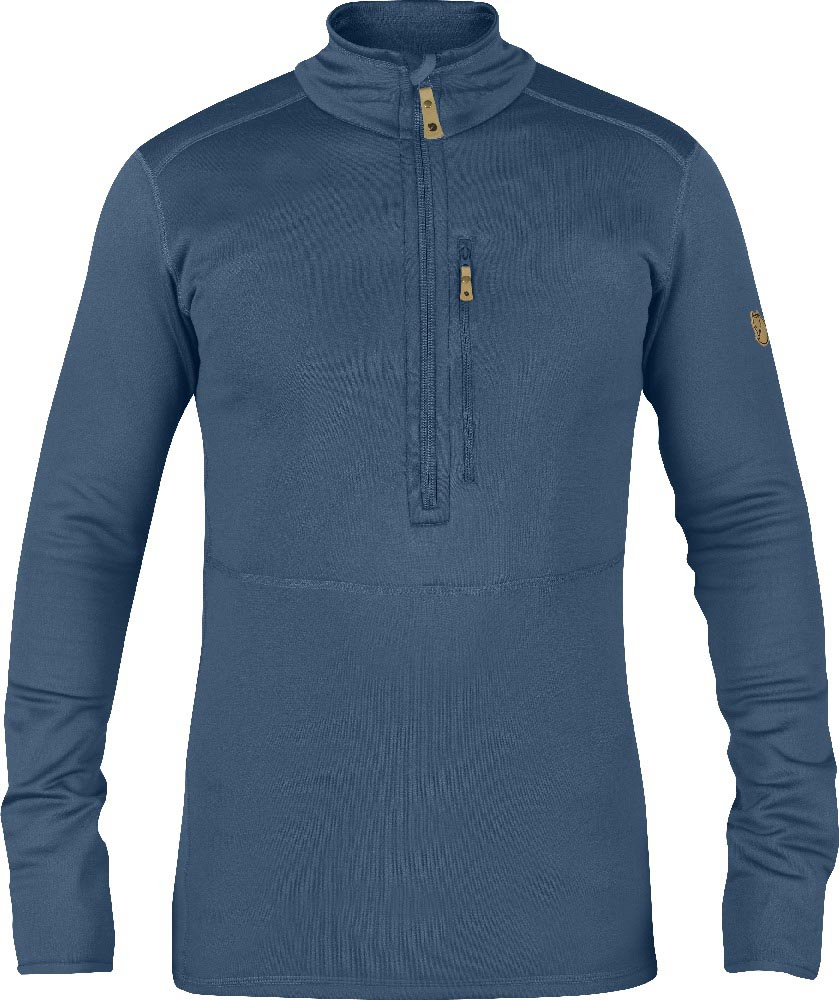FjallRaven Keb Fleece Half Zip Uncle Blue-30