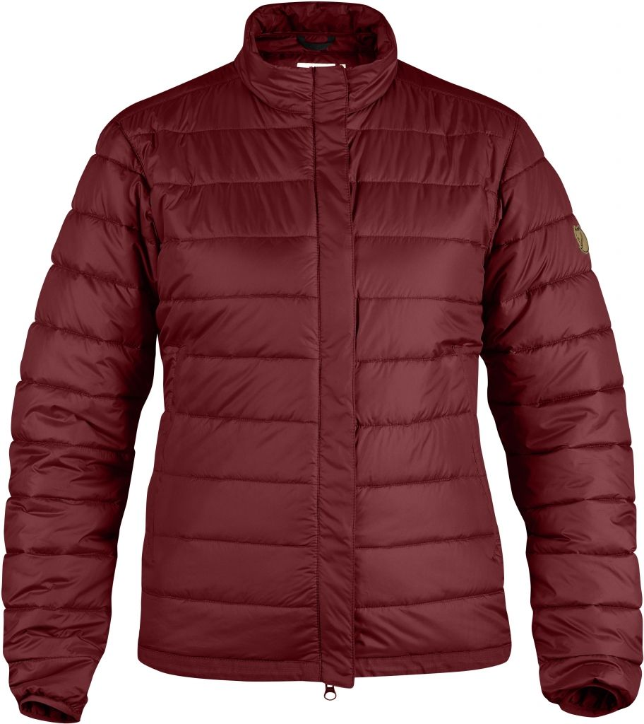 FjallRaven Keb Loft Jacket W. Ox Red-30