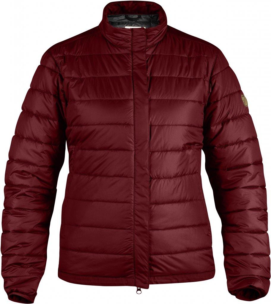 FjallRaven Keb Loft Jacket W. Dark Garnet-30