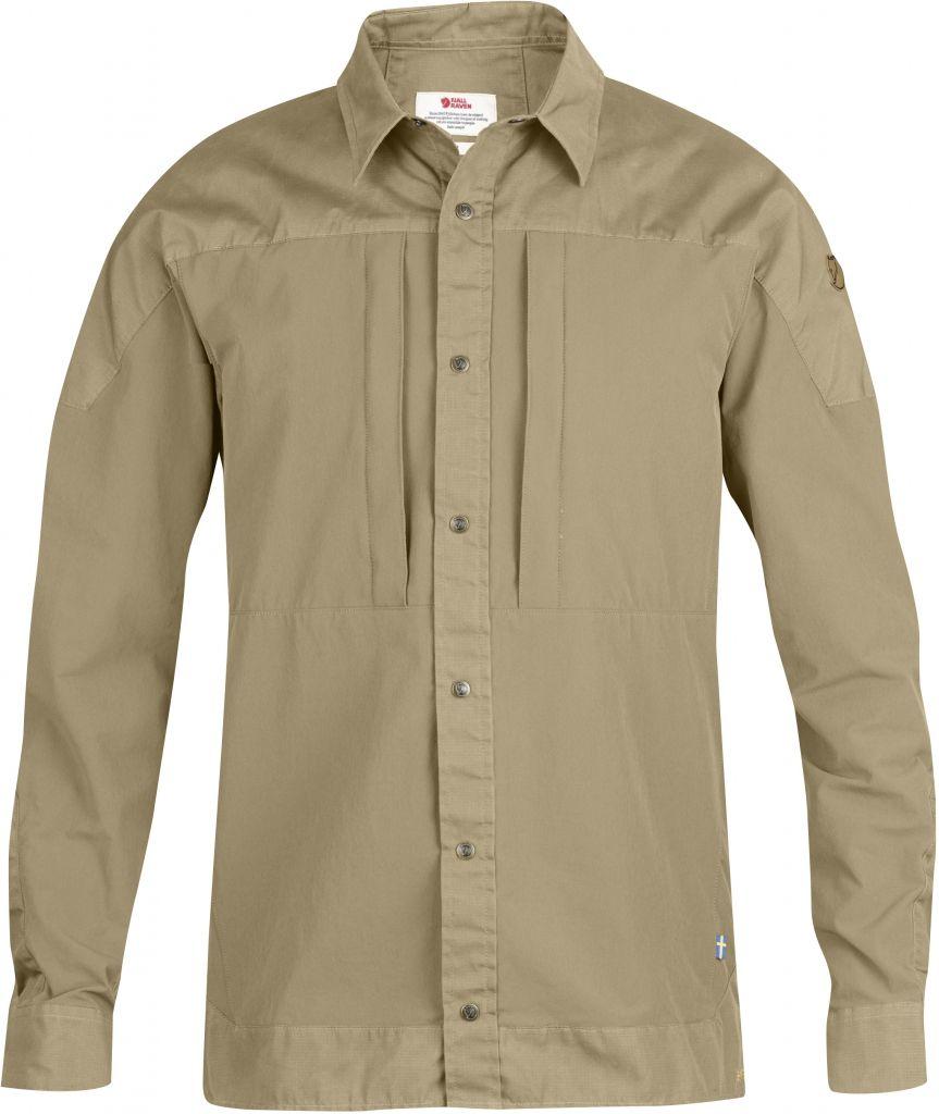 FjallRaven Keb Trek Shirt LS Sand-30
