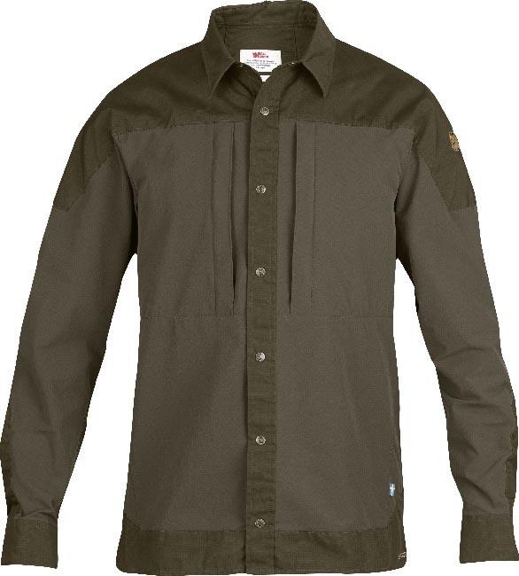 FjallRaven Keb Trek Shirt LS Tarmac-30