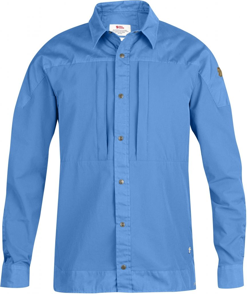 FjallRaven Keb Trek Shirt LS UN Blue-30
