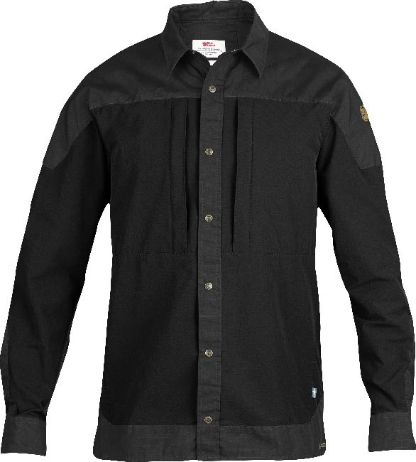 FjallRaven Keb Trek Shirt LS Black-30