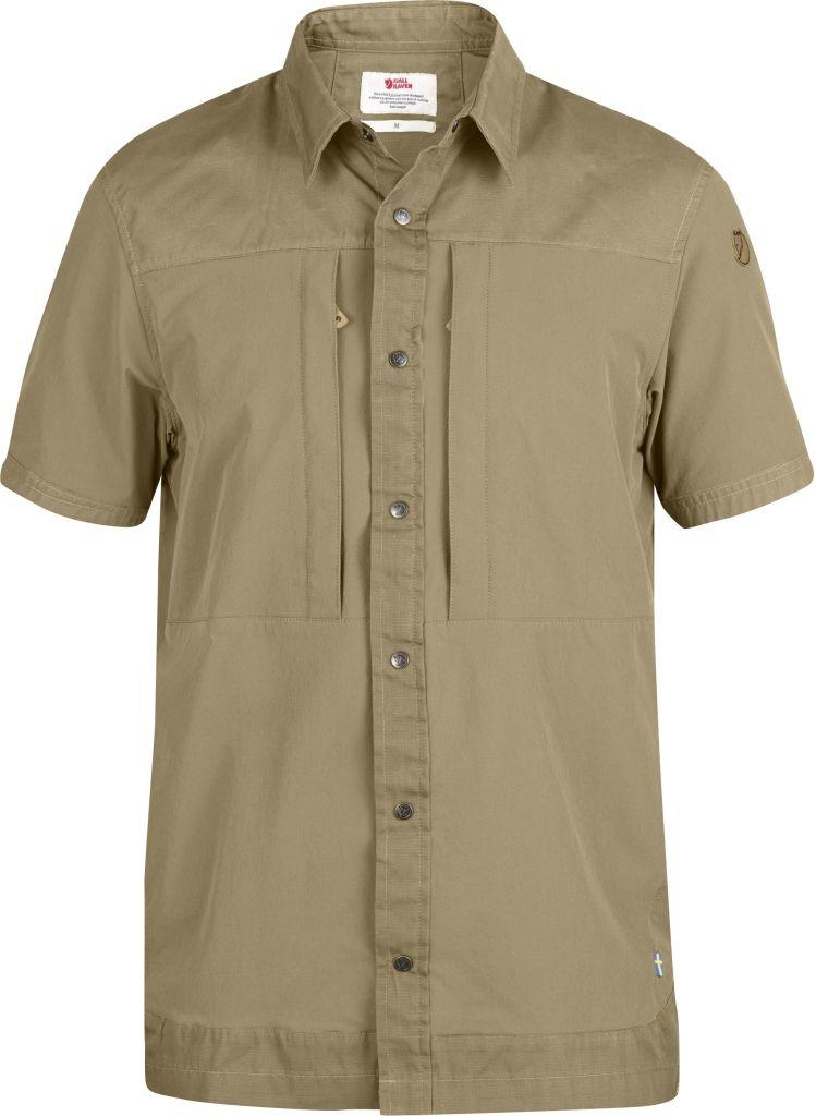 FjallRaven Keb Trek Shirt SS Sand-30