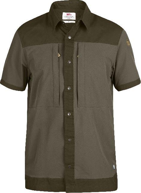 FjallRaven Keb Trek Shirt SS Tarmac-30