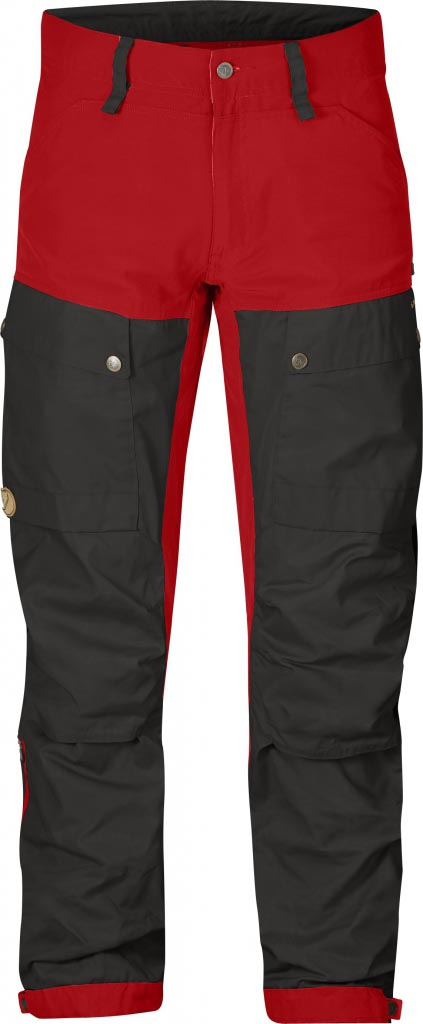 FjallRaven Keb Trousers Red-30