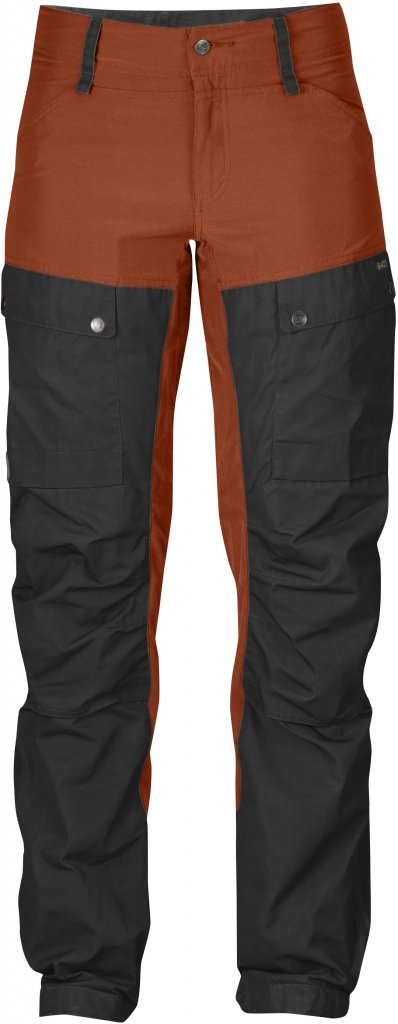 FjallRaven Keb Trousers W Curved Autumn Leaf-30