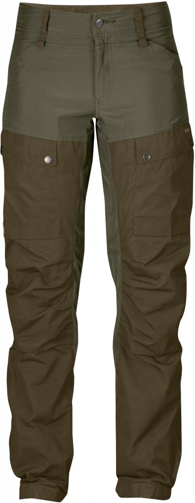FjallRaven Keb Trousers W Curved Tarmac-30