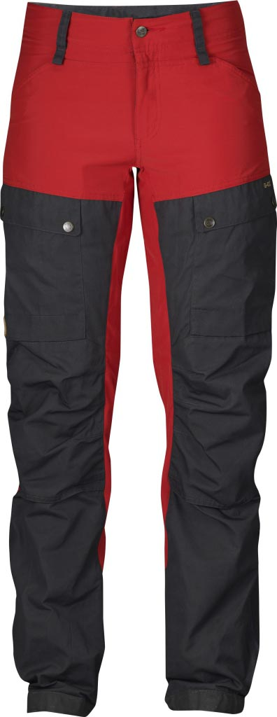 FjallRaven Keb Trousers W. Red-30