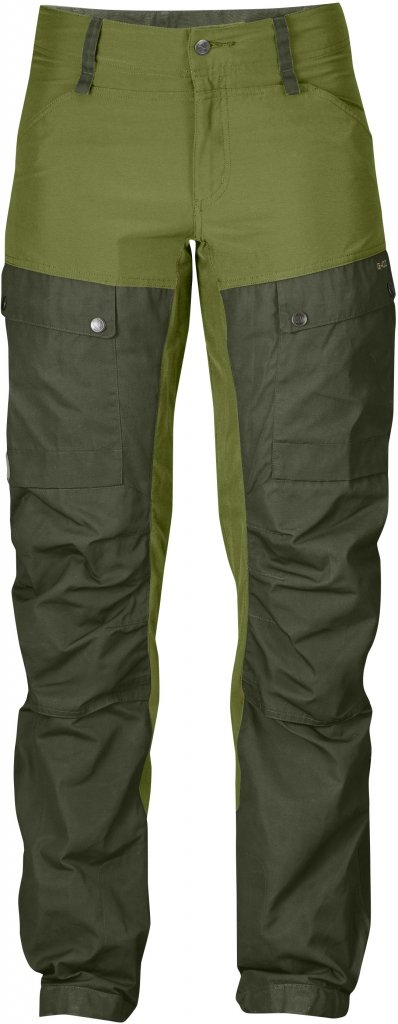 FjallRaven Keb Trousers W Curved Olive-30
