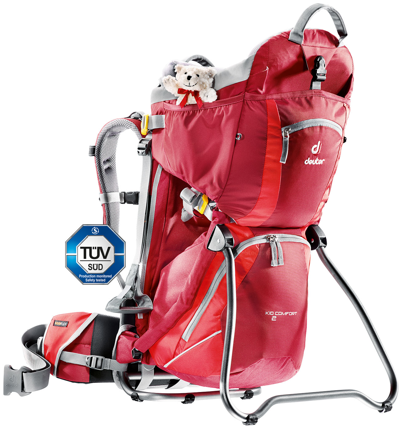 Deuter Kid Comfort II cranberry-fire-30