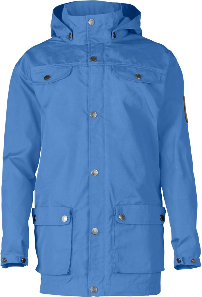 FjallRaven Kid's Greenland Jacket UN Blue-30
