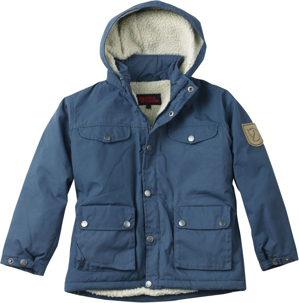 FjallRaven Kid's Greenland Winter Jacket Uncle Blue-30