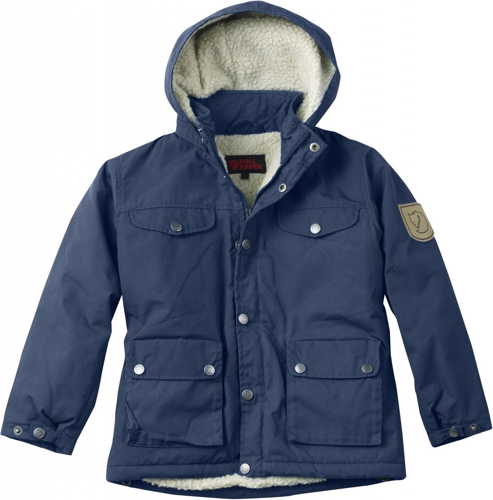FjallRaven Kid's Greenland Winter Jacket Blueberry-30