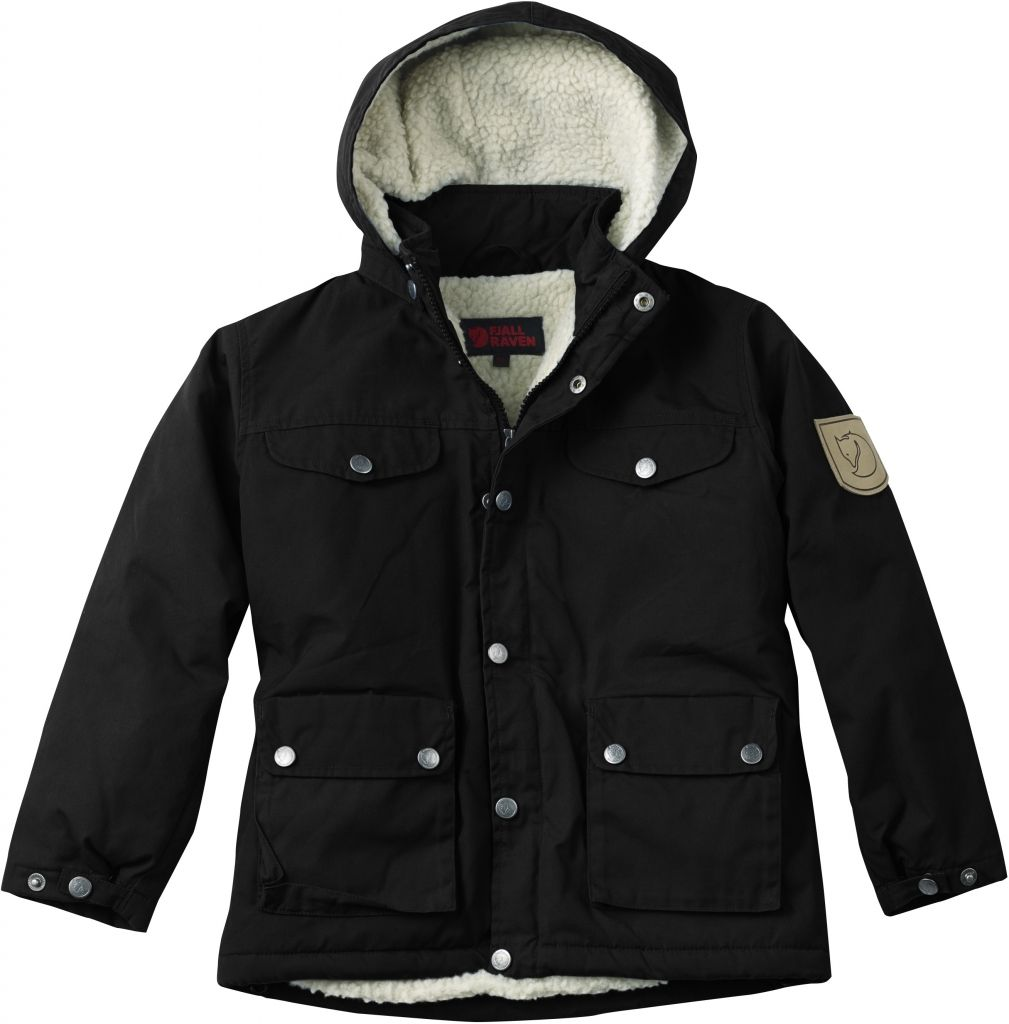 FjallRaven Kid's Greenland Winter Jacket Black-30