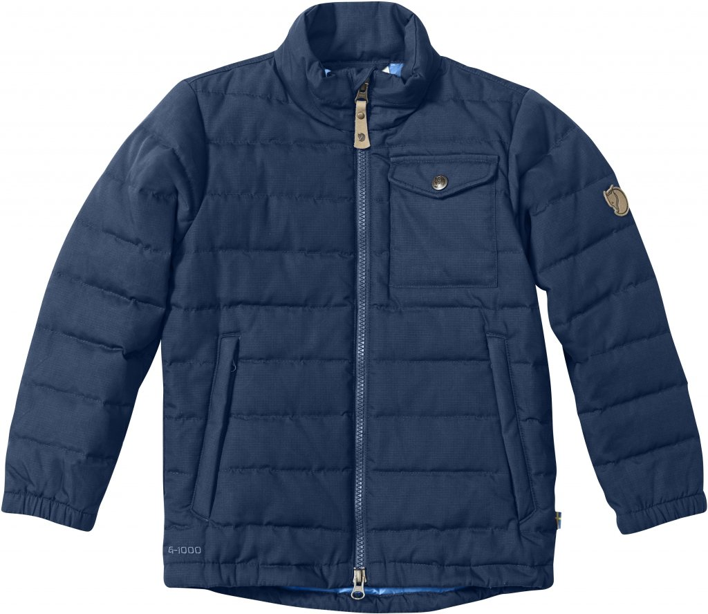 FjallRaven Kids Ovik Lite Jacket Blueberry-30